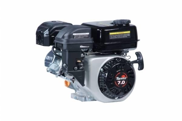 Motor TOYAMA 7 HP 4T eixo 3/4' P.Elétrica kit chaves TF70FEX