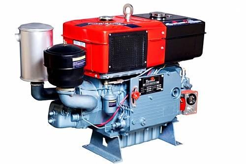 Motor diesel TDW22DR TOYAMA 24 hp refrigerado água com radia