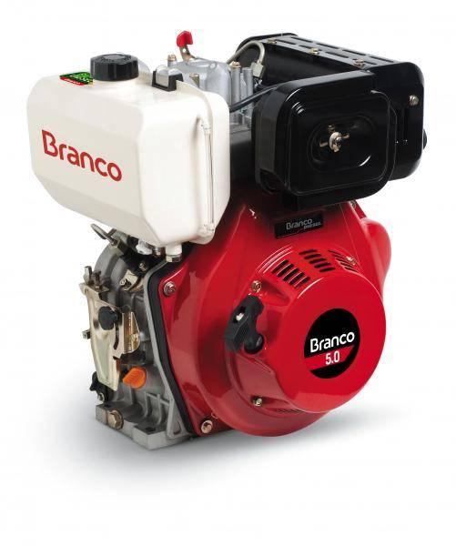 Motor Branco Diesel 5.0 Eixo H Part. Manual Filtro AR à Oleo