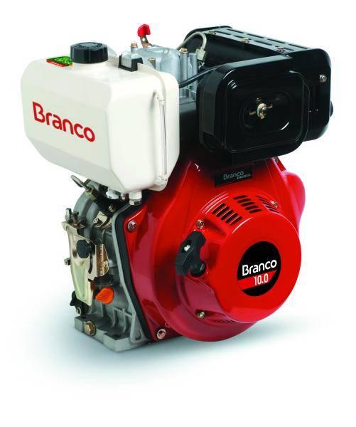 Motor Branco Diesel BD 7.0 Eixo H. Part. Manual filtro de AR