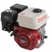 Motor Branco gasolinaB4T 6,5CV P. Eletrica filtroAR à oleo