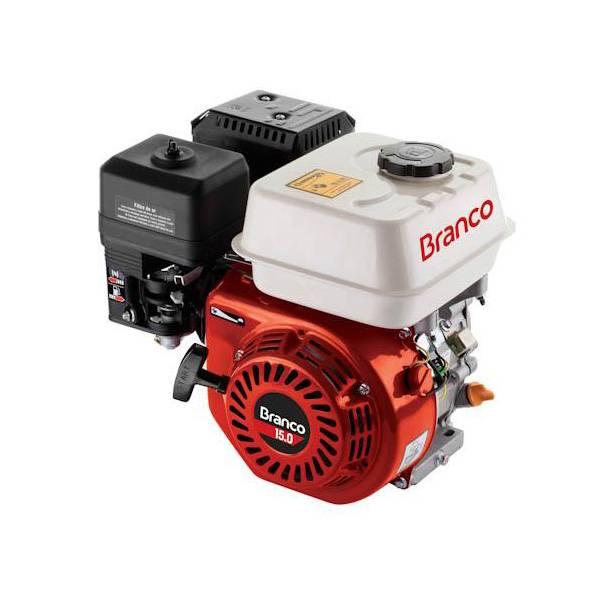 Motor Branco Gasolina B4T 15,0CV eixo Horizontal P. Manual