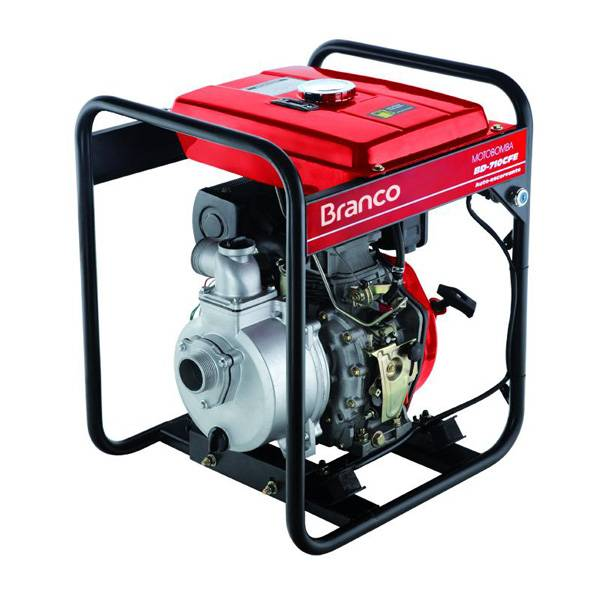 Motobomba Branco Diesel BD710CF 2'x2' P.elétrica Autoescorva