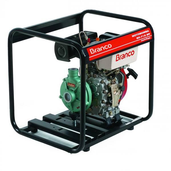 Motobomba Branco Diesel BD 715 BR 1,5'x 1' P. Manual Centríf