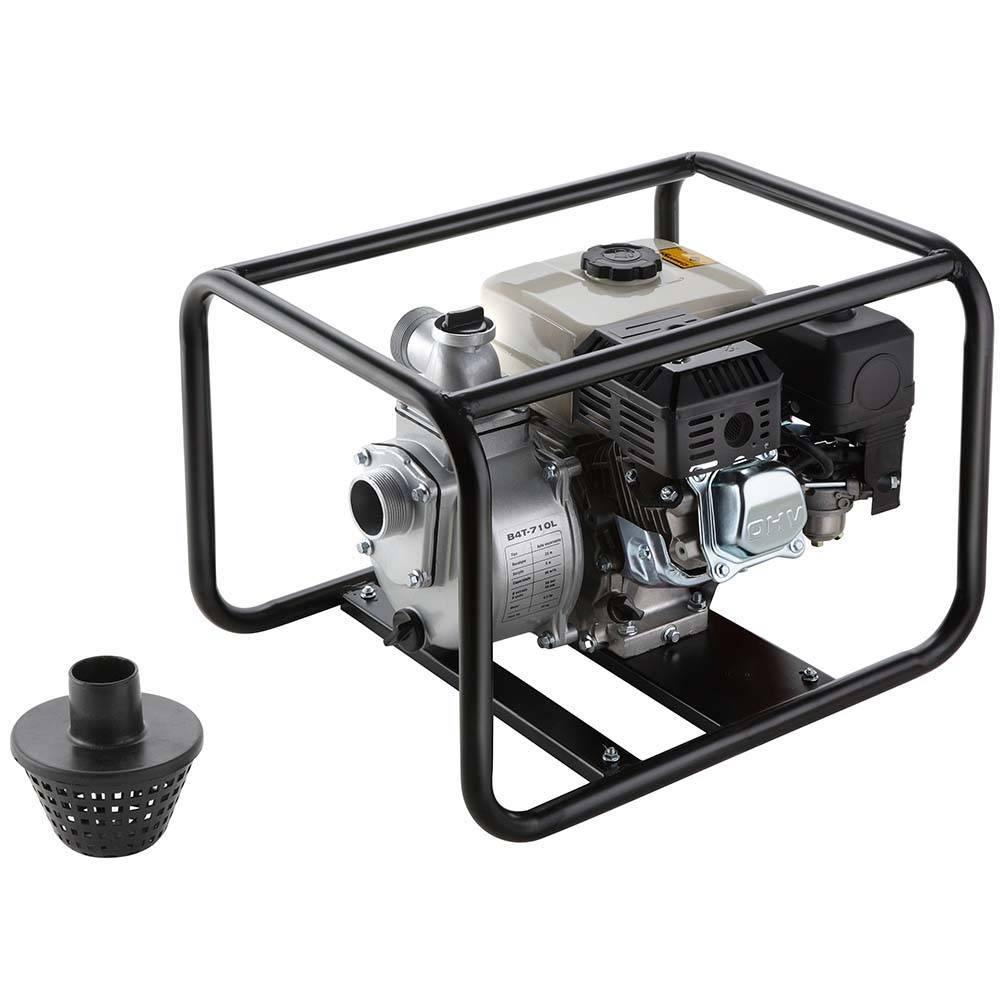 Motobomba Branco Gasolina B4T 710L 2'x2' P. Manual Autoescor
