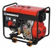 Gerador Branco Diesel BD 8000 E 6,5 KVA Monofásico P. Eletri