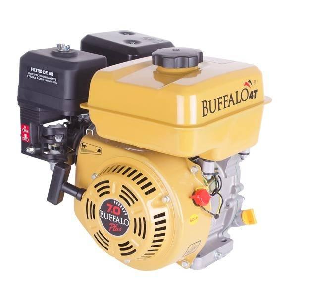Motor Estacionário Buffalo BFG 6,5cv C/ Embragem P. Elétrica