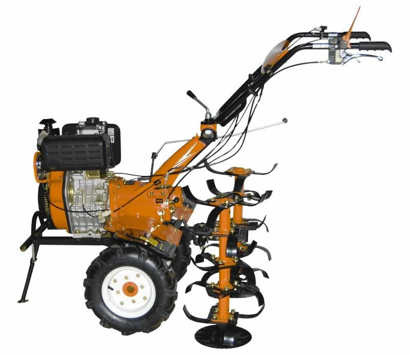 Motocultivador a Diesel - 10HP - P. Manual - Última unidade