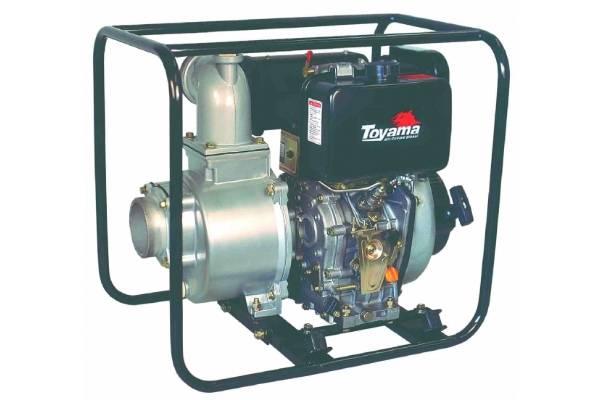 Motobomba Toyama Autoescorvante Diesel 10hp P. Manual 4'x4'