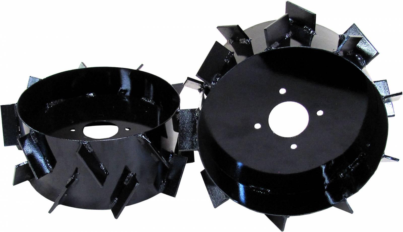 Conjunto de Rodas de Ferro para Motocultivadores de até 7cv