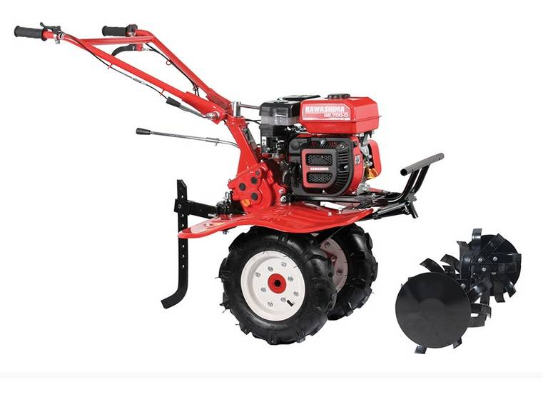 Motocultivador e Micro Trator MCG 780 Gasolina 7HP 1M corte