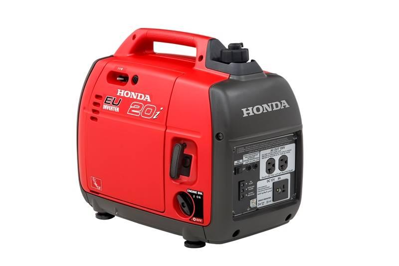 Gerador Honda EU20i Gasolina 120V 2000W P. Manual monofásico