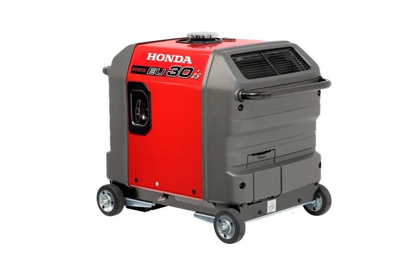 Gerador Honda EU30is Gasolina 120V 3000W P. elétrica mono