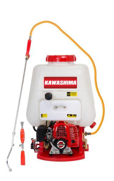 Pulverizador Costal Kawashima PCG2625 25L à gasolina 25,4cc