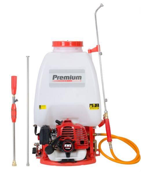 Pulverizador Costal Kawashima Premium F2600P gasolina 25,4cc