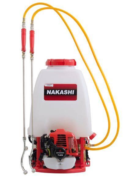 Pulverizador Costal Nakashi F-260-M Pro 2T gasolina 25,6cc