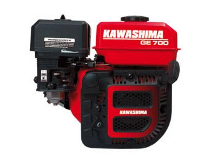 Motor Estacionário Kawashima GE 700 4T à gasolina 4000 RPM