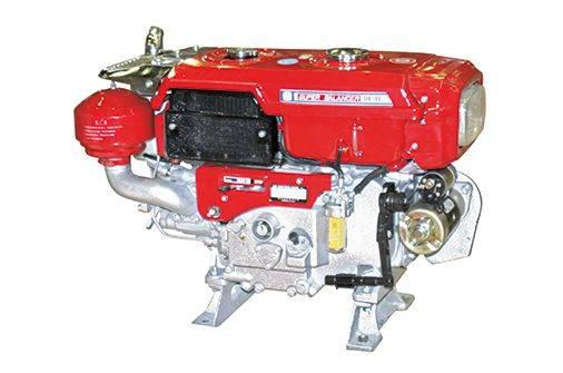 Motor Estacionário Changchai R190-N Diesel RADIADOR 10,5 HP
