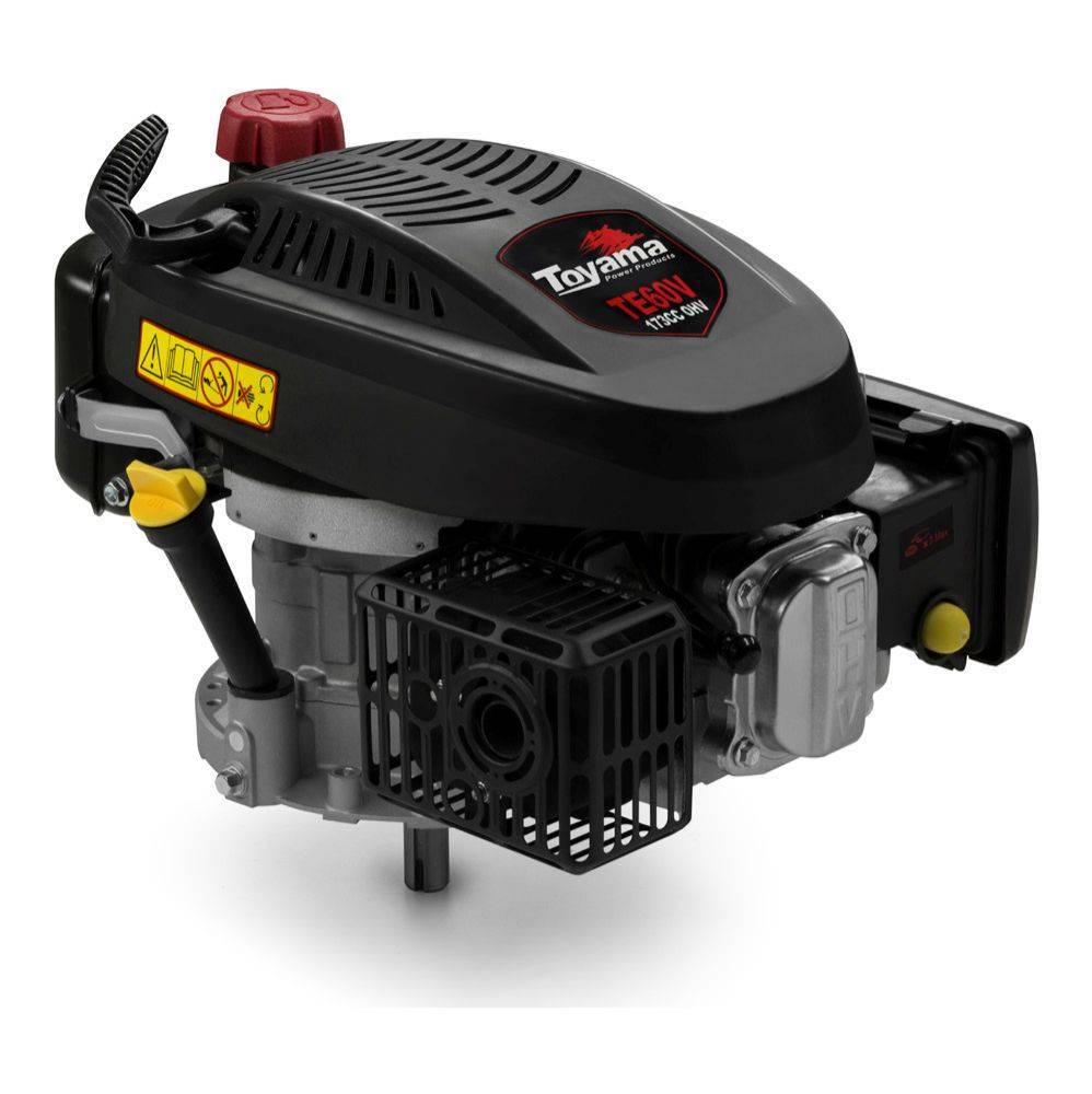 Motor Toyama TE60V-2 a Gasolina 4T Eixo mediovertical 3,5HP