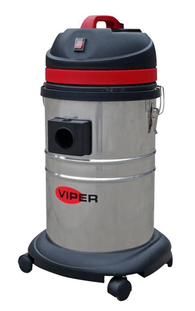 Aspirador de Pó Viper LSU135 Elétrico 1000W 220V INOX