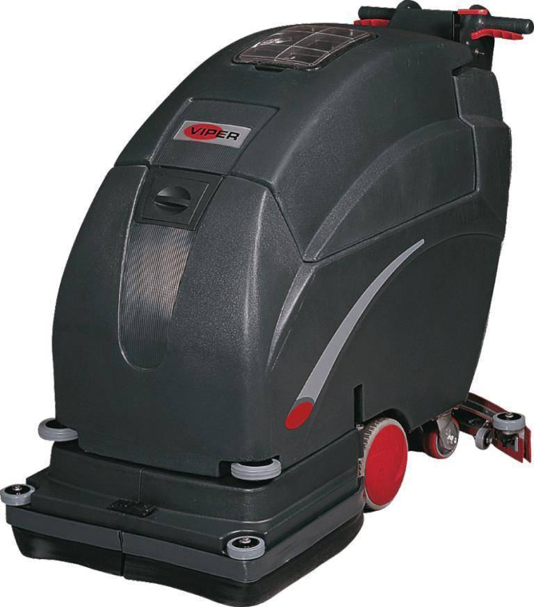 Lavadora de Pisos Viper a Bateria FANG26TAutonomia 3:15hrs