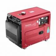 Gerador Monofásico Branco Diesel BD 6500 ES 5KVA P. Elétrica