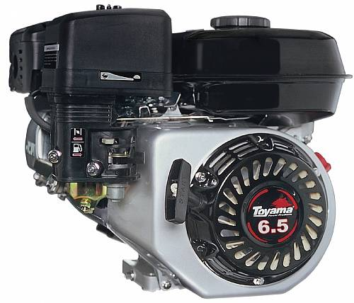 Motor TOYAMA 6,5HP 4T eixo 3/4' Para Motocultivador TT90