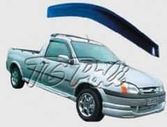 Calha de Chuva Ford Fiesta Hatch  96/01 2 portas - TG Poli
