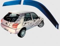 Calha de Chuva Ford Fiesta Hatch  96/01 4 portas - TG Poli