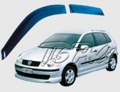 Calha de Chuva VW Polo Hatch | 4 portas - TG Poli