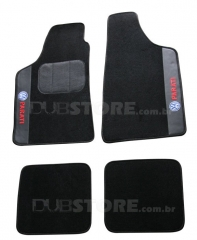 Jogo de Tapetes Automotivo em Carpet para Volkswagen Parati (1° geração)