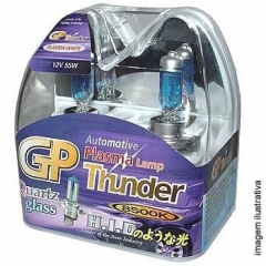 Kit Lampadas Super Brancas GP Thunder Blue 8500k | HB3 (9005)