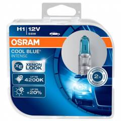 Kit Lâmpadas Osram Cool Blue Intense - H1