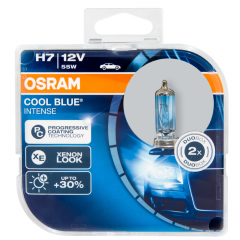 Kit Lâmpadas Osram Cool Blue Intense - H7