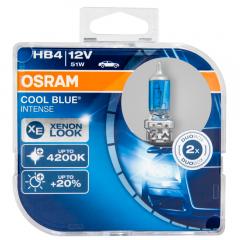 Kit Lâmpadas Osram Cool Blue Intense - HB4