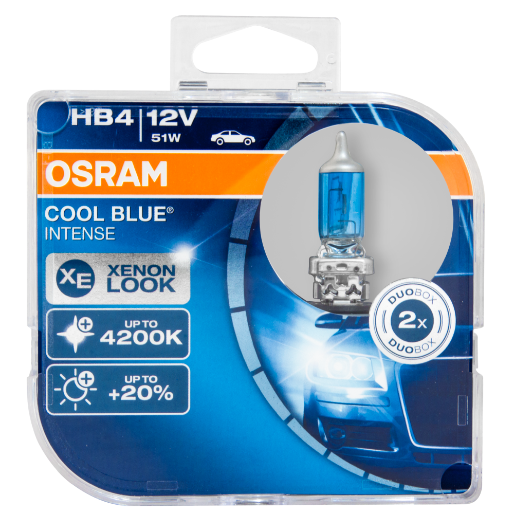 Kit Lâmpadas Osram Cool Blue Intense - HB4 | DUB Store