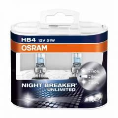 Kit Lâmpadas Osram Night Breaker Unlimited - HB4 (9006)