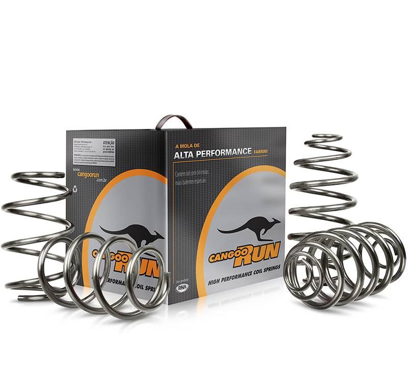Kit molas esportivas CangooRun Volkswagen Gol G5/G6 C/ Ar Condicionado | DUB Store