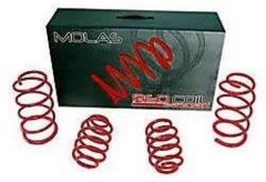 Kit molas esportivas Red Coil Fiat Siena 01/...