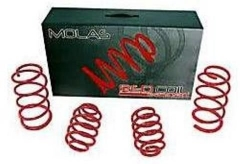 Kit molas esportivas Red Coil Fiat Siena 98/01