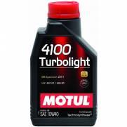 Óleo Motul 4100 TURBOLIGHT 10W40 | 1 litro