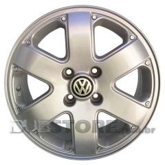Jogo de Rodas Volkswagen Parati Crossover 15x6 4x100   Prata