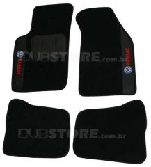Jogo de Tapetes Automotivo em Carpet para Volkswagen Passat 1998-2002
