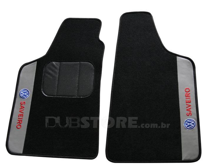 Jogo de Tapetes Automotivo em Carpet para Volkswagen Saveiro (1° geração) | DUB Store