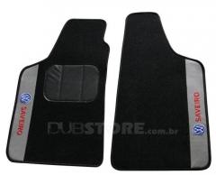 Jogo de Tapetes Automotivo em Carpet para Volkswagen Saveiro (2° geração)