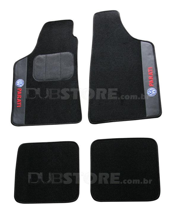 Jogo de Tapetes Automotivo em Carpet para Volkswagen Parati (2° geração) | DUB Store