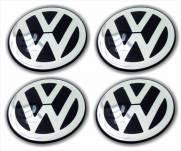Emblemas/Center Cap   VW - Volkswagen 51mm