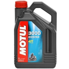 Óleo Motul 3000 4T para motor 4T 20W50 Mineral | 4 litros