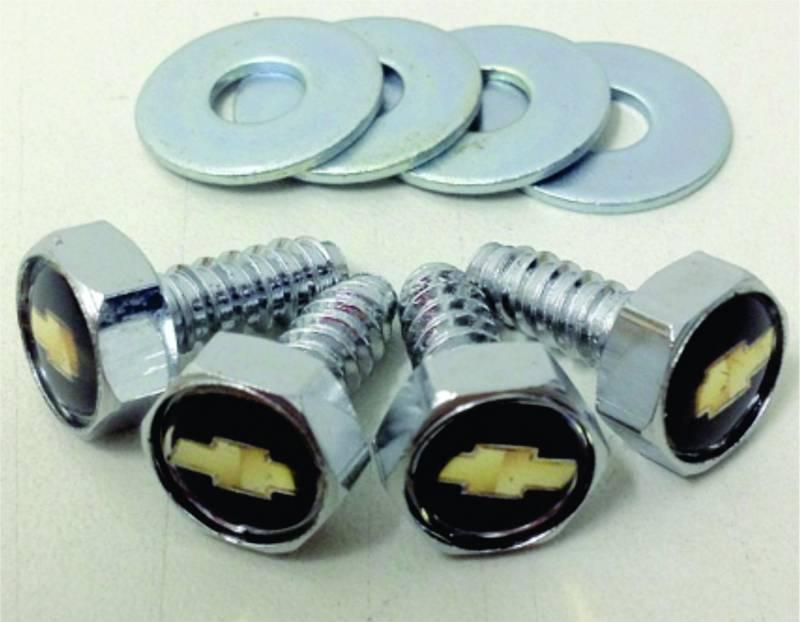 Kit de Parafusos com arruelas para Placas - Emblema Chevrolet   DUB Store