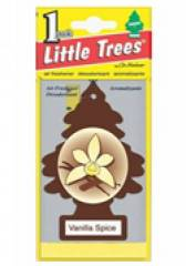 Aromatizante Little Trees - Fragrância Vanilla Spice/Baunilha com Canela